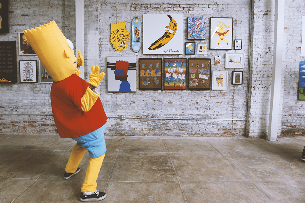 curated by be street the unofficial bootleg bart art show the