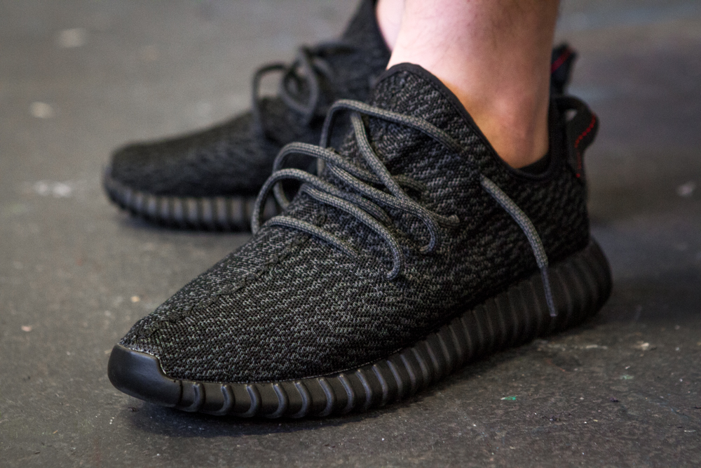 20e4a06a A Closer Look at the Black adidas Yeezy 350 Boost - The Hundreds