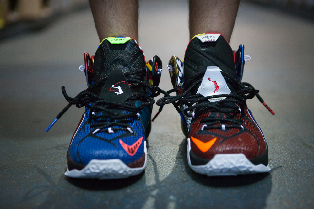 """the best attitude 6e75c e15cc You can find the """"WHAT THE"""" Lebron 12 SE at your local retailer now as of  September 26."""