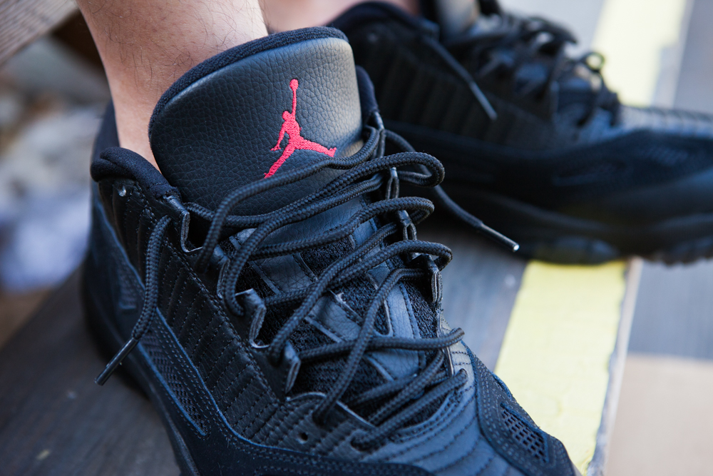 """7112b0564ec You can find the Jordan XI Low """"Referee"""" at your local Jordan Brand  retailer come this Saturday, September 26th."""