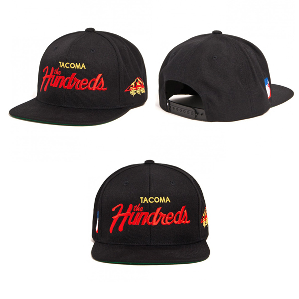 """c763b45c604 The Hundreds teams up with longtime cohort Umi Wagner along with his crew  over at ETC Tacoma to bring you this very limited edition """"Team"""" snap-back  cap."""