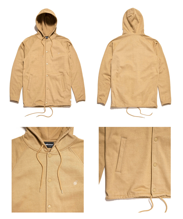 The Hundreds Winter 2015 :: Nano Coat Outerwear - The Hundreds