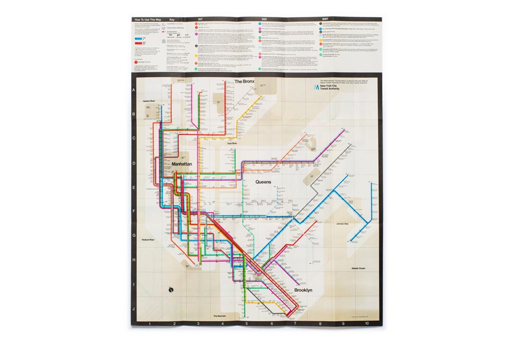 1972 Nyc Subway Map.The New Digital Historian Brian Kelley S Nycta Project The Hundreds
