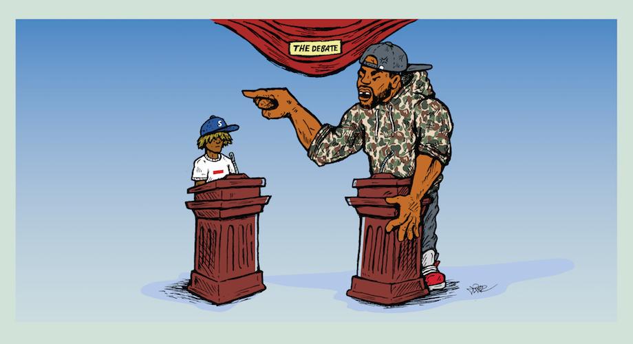 9edd4f19 The Ballad of YMBape :: How Streetwear Created Their Own Donald ...