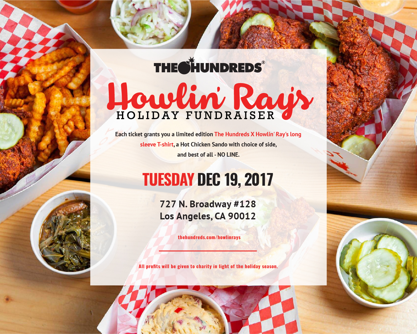 December 19 :: Get Your Tickets to The Hundreds & Howlin