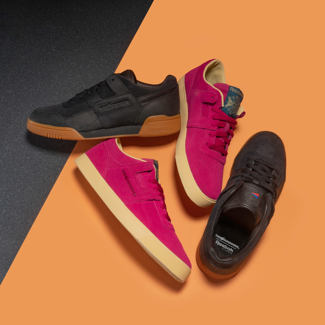 The Hundreds X Reebok Classic Workout Lo & Workout FVS