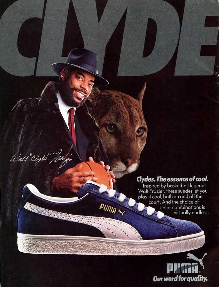 The Many Sides of Puma Clydes - The Hundreds