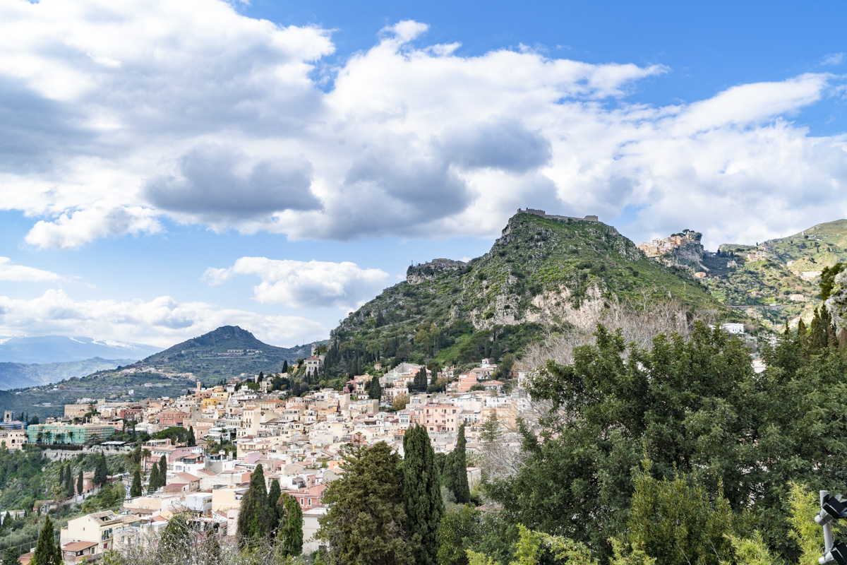 Panoramica Promontorio - Teatro Antico di Taorminca