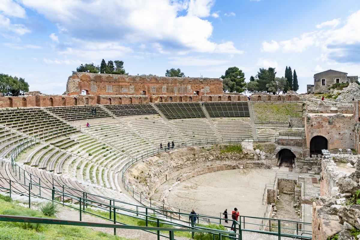 Ristrutturazione - Teatro Antico di Taormina