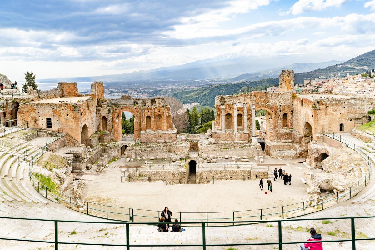 Vista Interna Teatro Antico