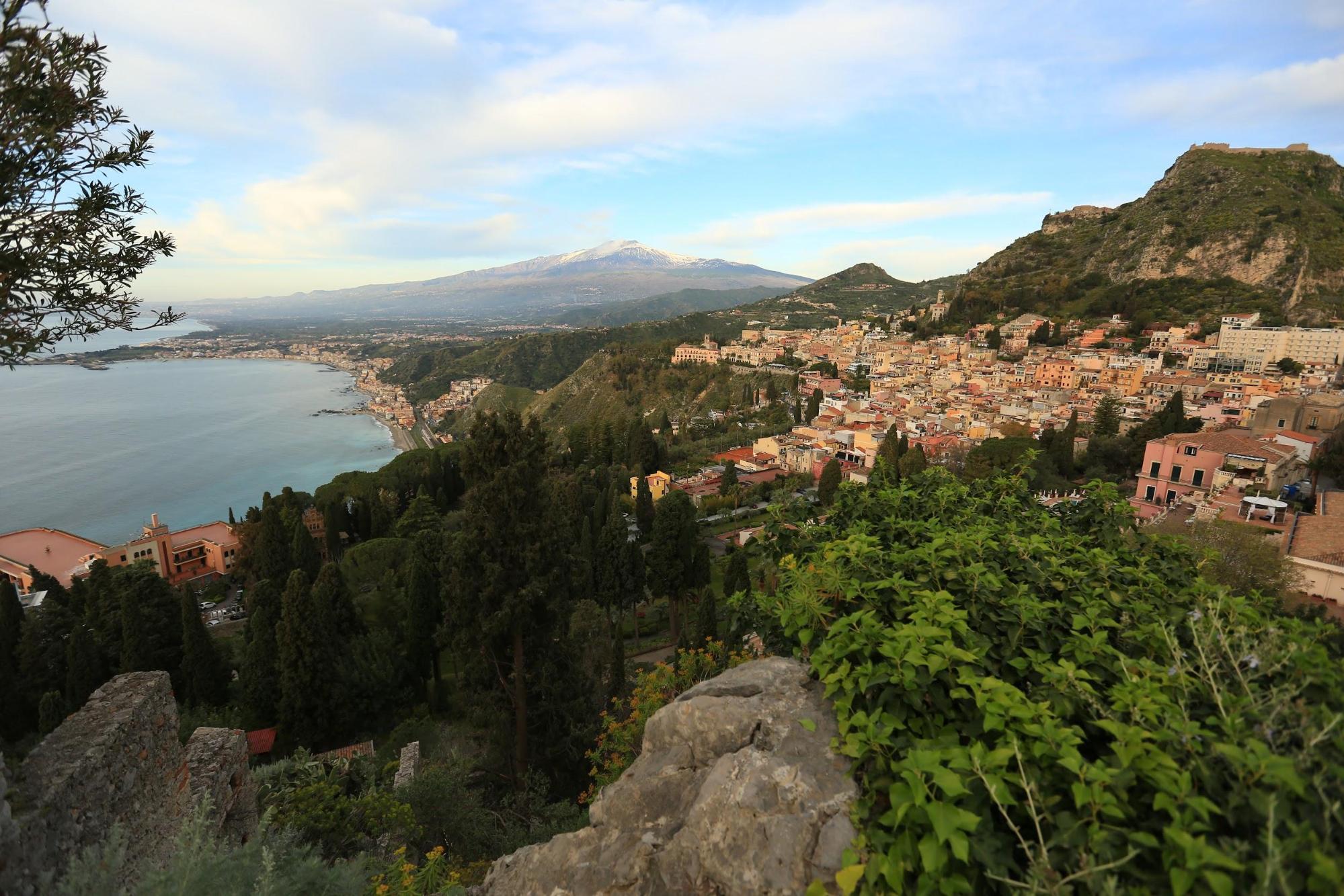 Panoramica Taormina