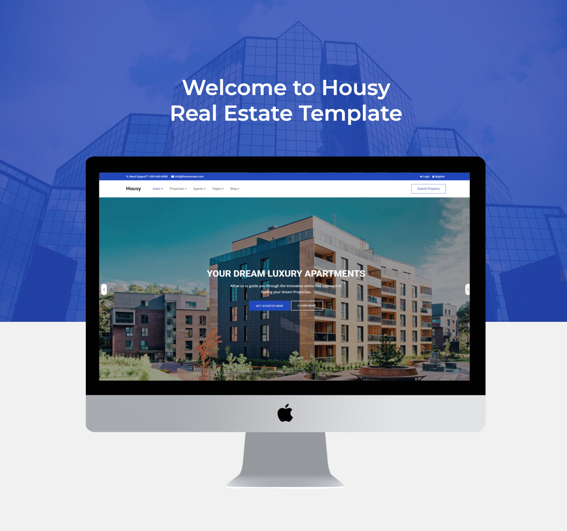 Housy - Real Estate HTML5 Template - 5