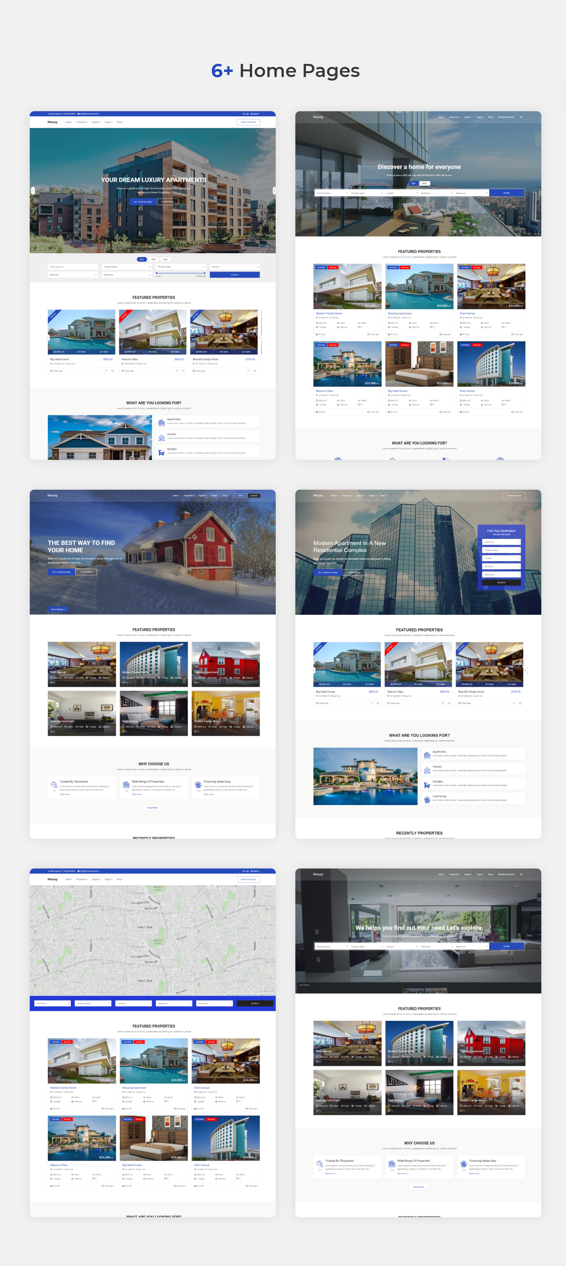 Housy - Real Estate HTML5 Template - 7