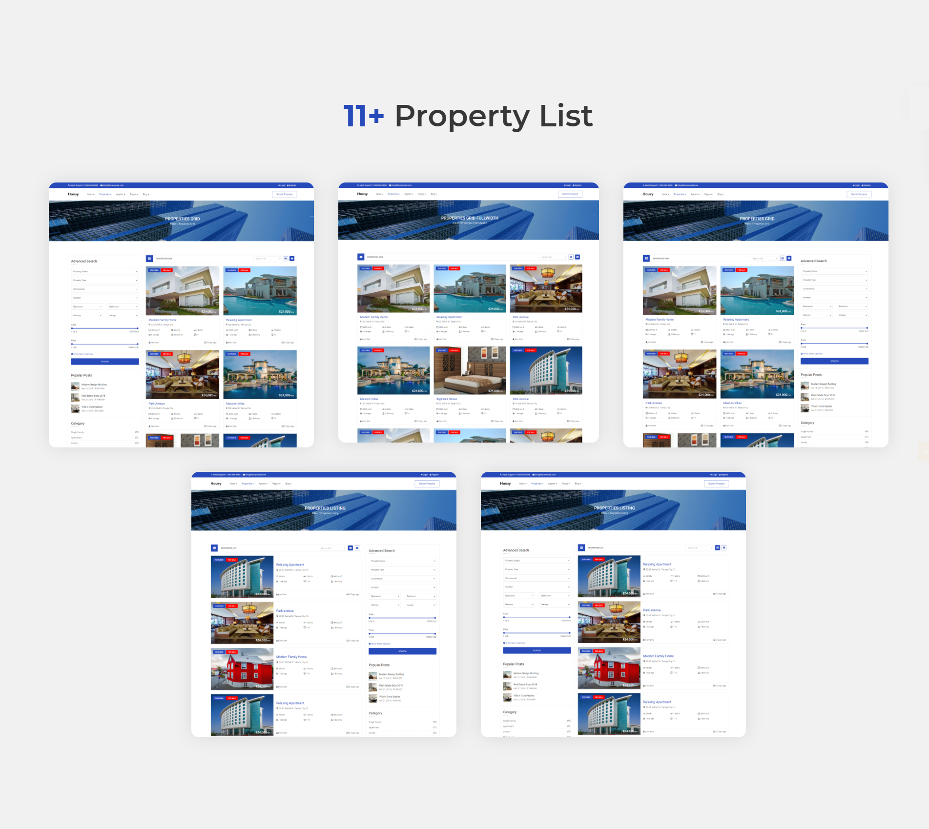 Housy - Real Estate HTML5 Template - 8