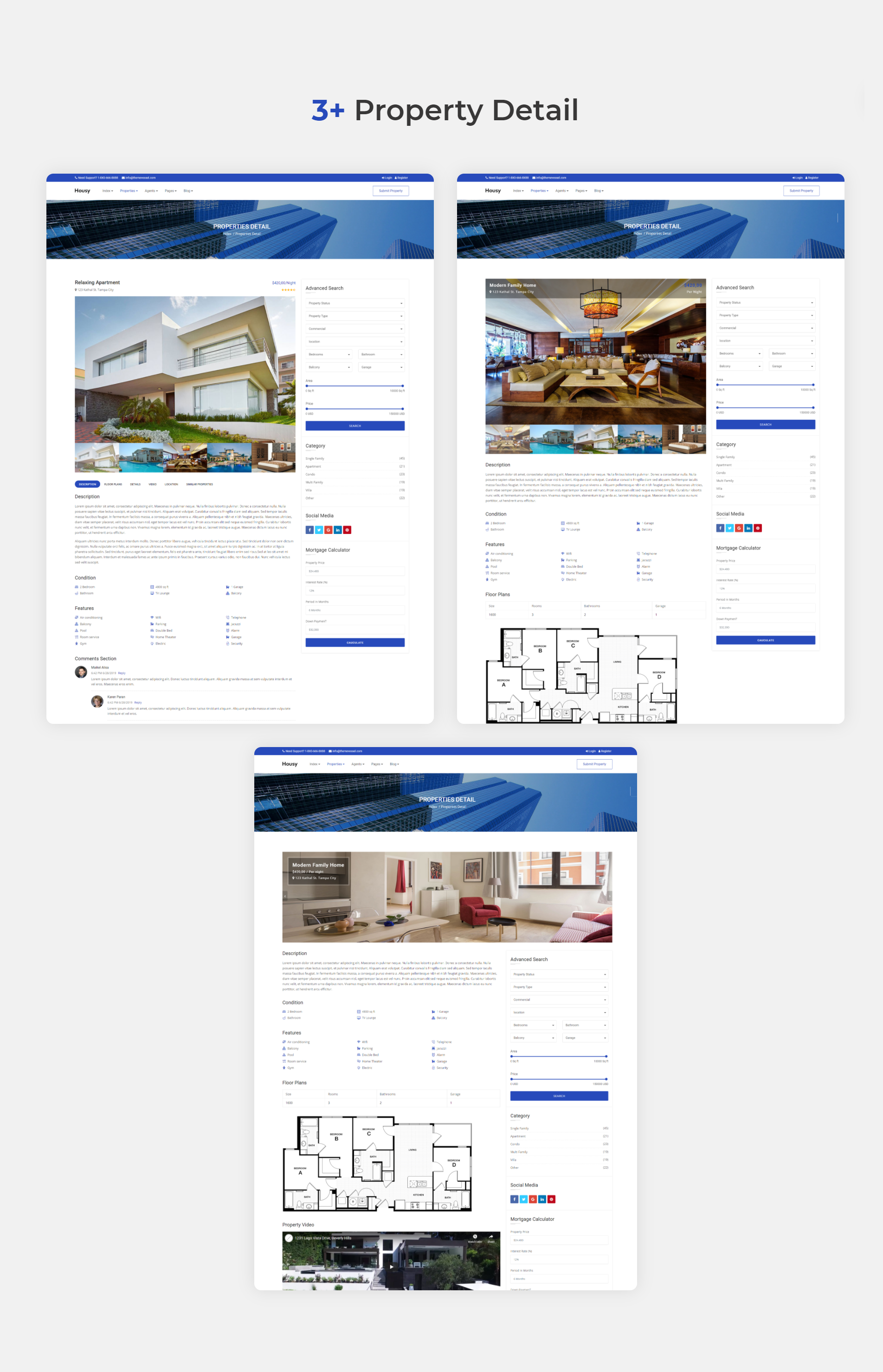 Housy - Real Estate HTML5 Template - 9
