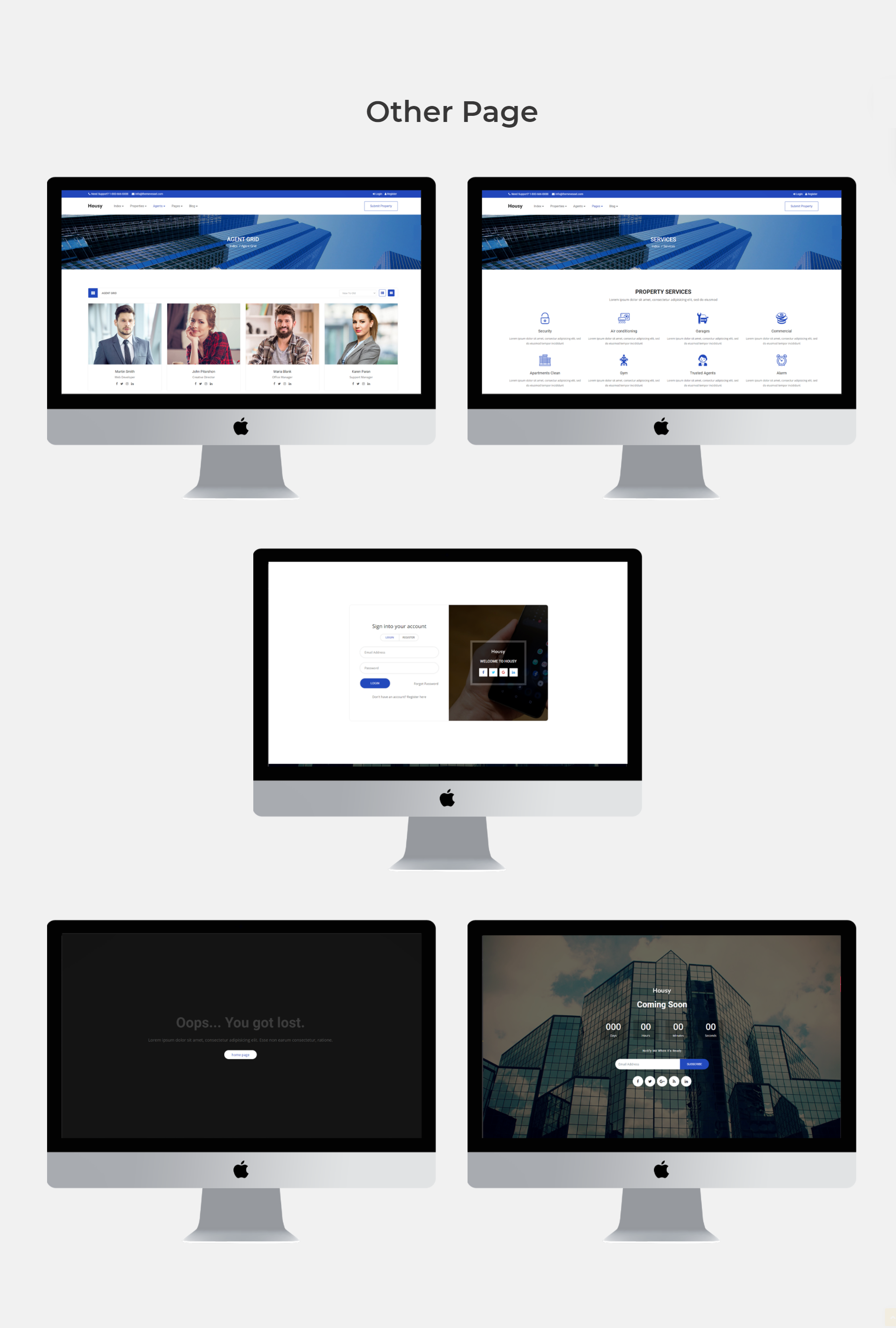 Housy - Real Estate HTML5 Template - 10