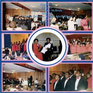 Lannie Spann McBride Only Jesus J&B Records LP Vinyl