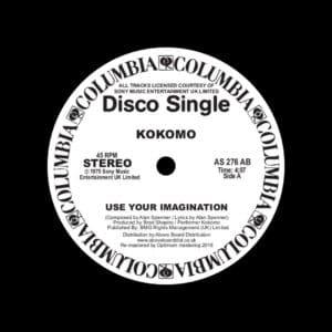 "Kokomo Use Your Imagination (Danny Krivit Edit) Columbia 12"", Reissue Vinyl"