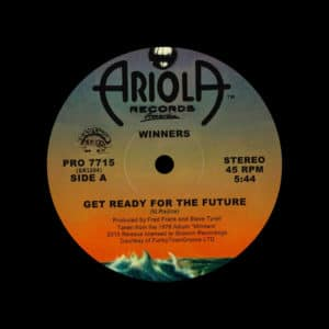 """Winners Get Ready For The Future / Love Is Free Groovin Recordings 12"""", Reissue Vinyl"""