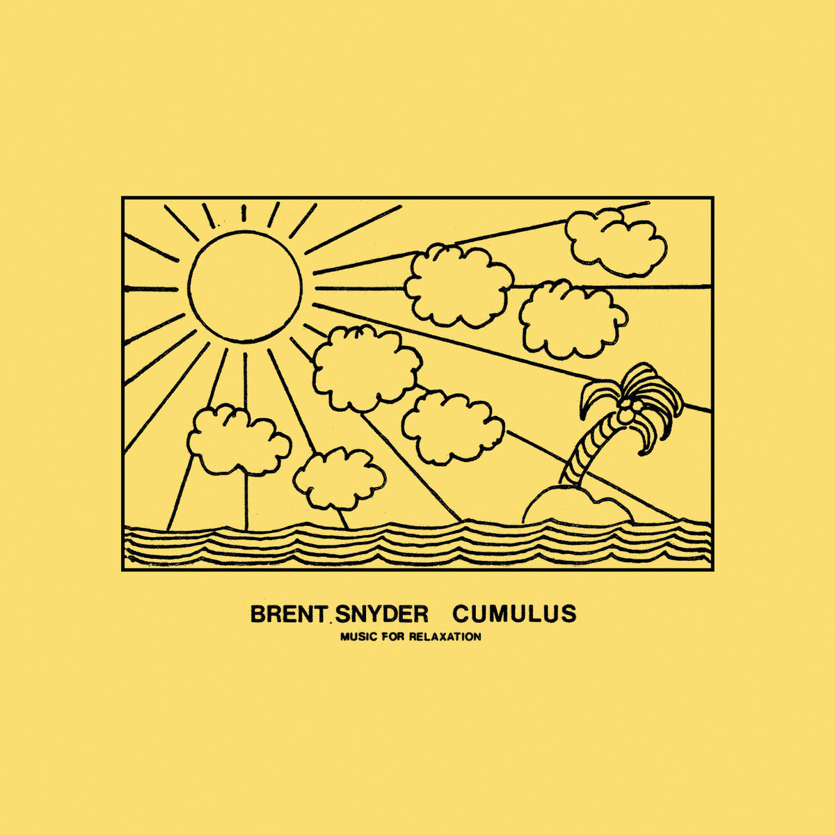 Brent Snyder Cumulus Morning Trip LP, Reissue