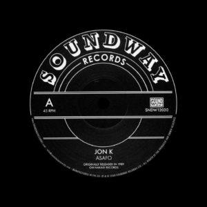 "Jon K, Pat Thomas Asafo / Enye Woa Soundway 12"" Vinyl"