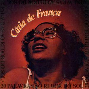 Cátia De França 20 Palavras Ao Redor Do Sol Epic LP Vinyl