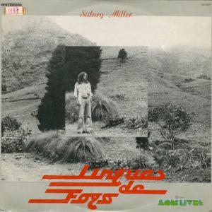 Sidney Miller Línguas De Fogo Som Livre LP Vinyl