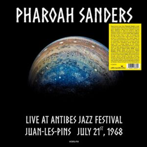 Pharoah Sanders Live At Antibes Jazz Festival Alternative Fox LP Vinyl
