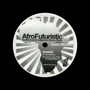 "Sean Alvarez Genesis AfroFuturistic 12"", Single-Sided Vinyl"