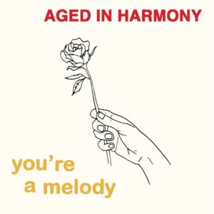 """Aged In Harmony You're A Melody Melodies International 3x7"""", Reissue Vinyl"""