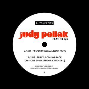 """Judy Pollak Al-Tone Edits Al-Tone 7"""" Vinyl"""