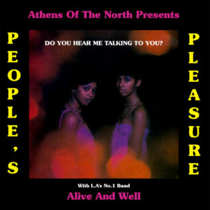 People's Pleasure Do You Hear Me Talking To You Athens Of The North LP, Reissue Vinyl