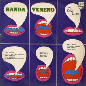 Erlon Chaves Erlon Chaves E Sua Banda Veneno Philips LP Vinyl