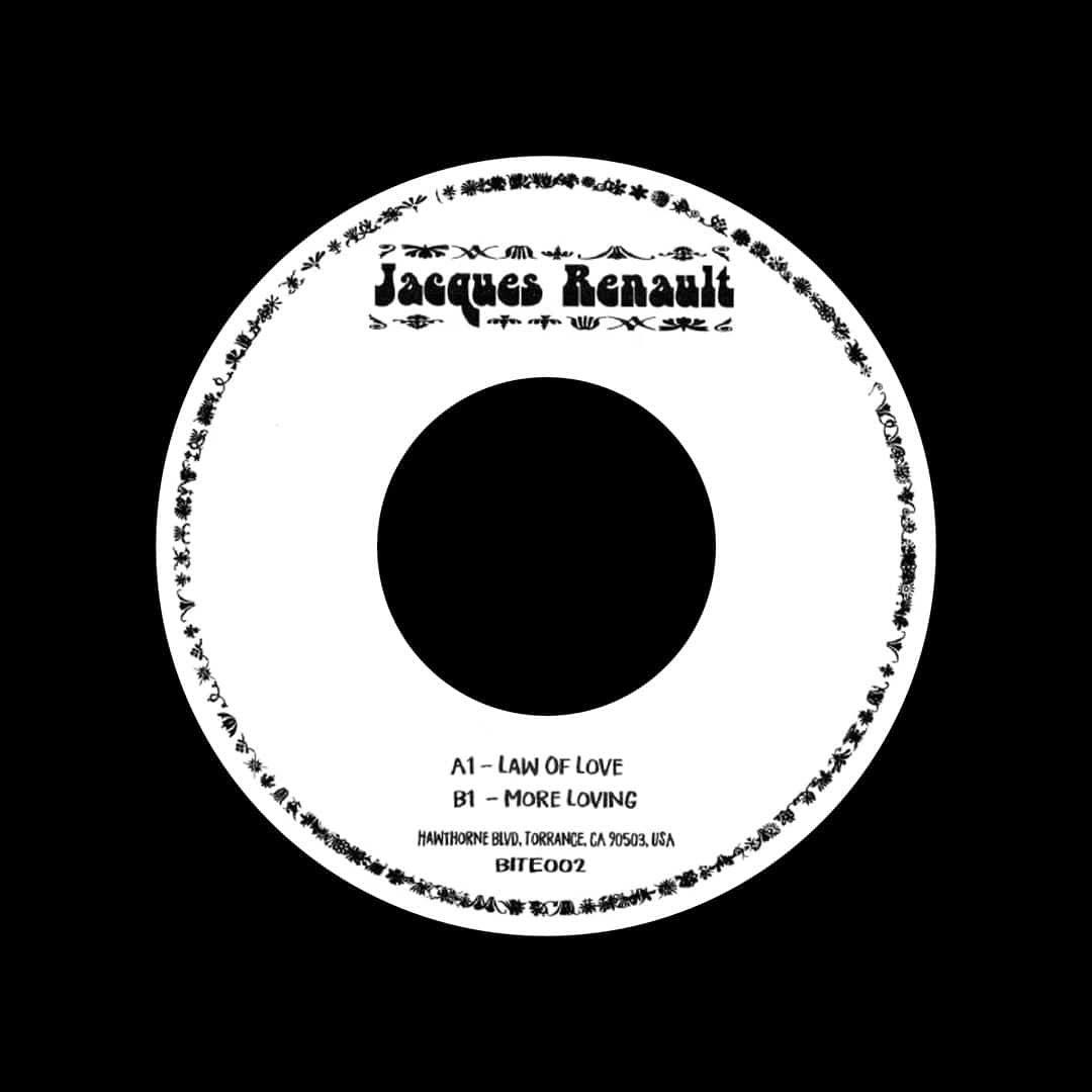 "Jacques Renault Law Of Love Take Away 7"" Vinyl"