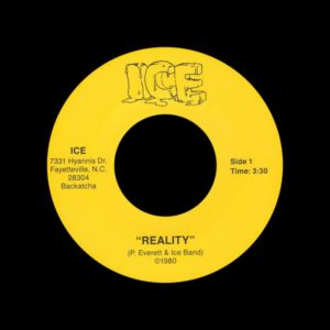 "Ice Reality / Hey, Hey Backatcha 7"", Reissue Vinyl"