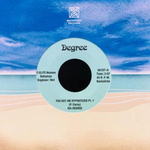 "5th Degree You Got Me Hypnotized Backatcha Records 7"", Reissue Vinyl"