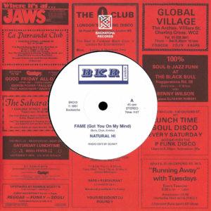 """Natural Hi Fame Backatcha Records 7"""", Reissue Vinyl"""