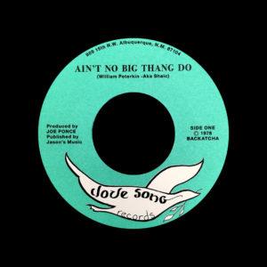"Aka Shaic Ain't No Big Thang Do / Swave Villi Us Backatcha Records 7"", Reissue Vinyl"