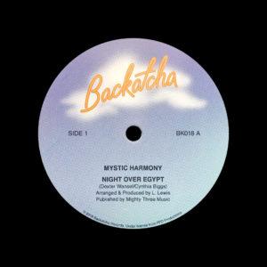 Mystic Harmony Night Over Egypt / Independant Lady Backatcha Records  Vinyl