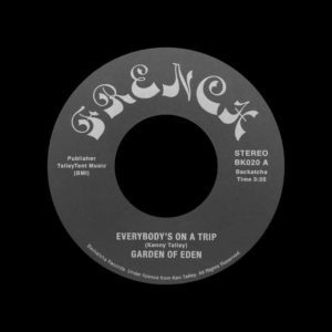"Garden Of Eden Everybody's On A Trip / It Takes Two Backatcha Records 7"", Reissue Vinyl"