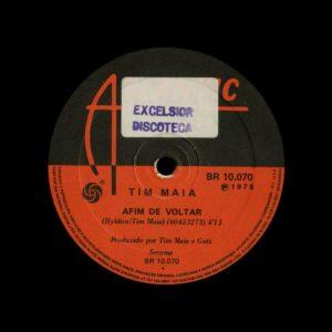 """Tim Maia Pais E Filhos / Afim De Voltar Atlantic 7"""" Vinyl"""