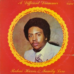 Rahni Harris & Family Love A Different Drummer Emprise LP Vinyl