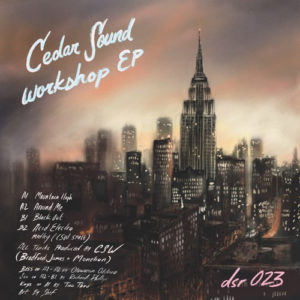 "Cedar Sound Workshop Cedar Sound Workshop EP Dailysession 12"" Vinyl"