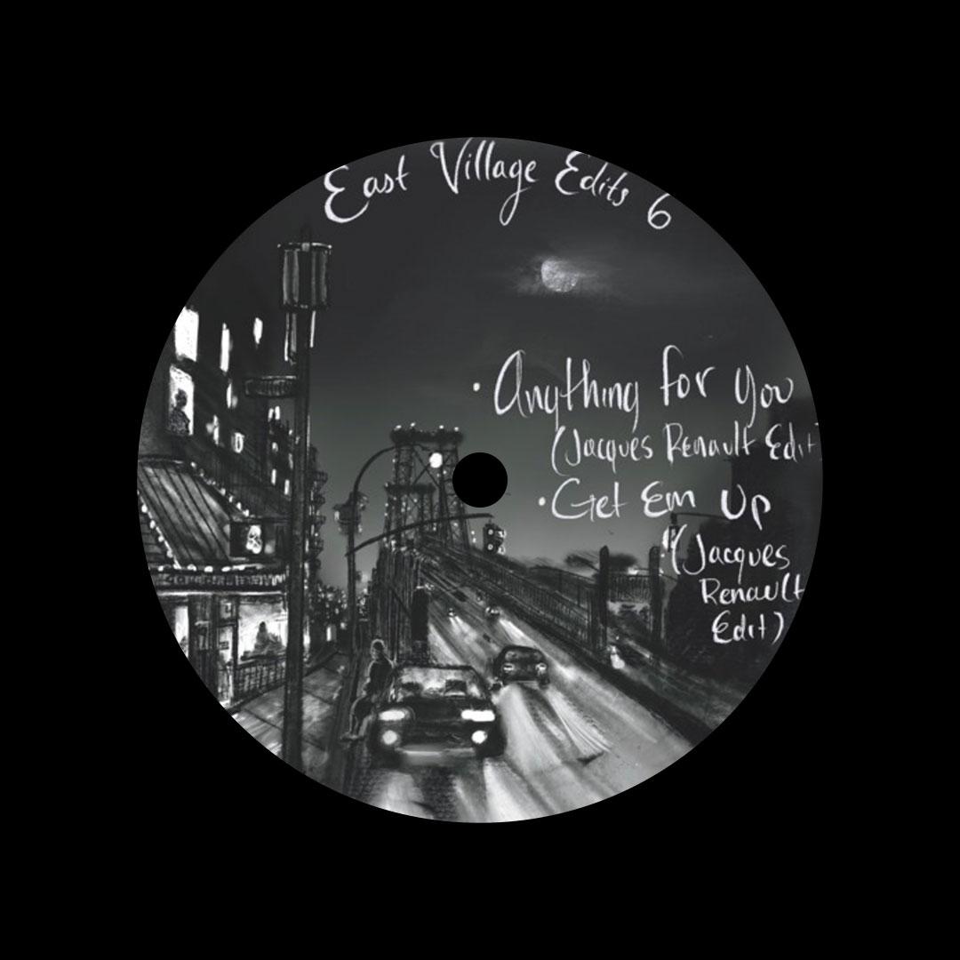 "Various East Village Edits #6 Dailysession 12"" Vinyl"