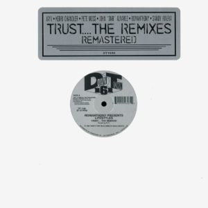 "Romanthony Trust… The Remixes Downtown 161 2x12"", Reissue Vinyl"