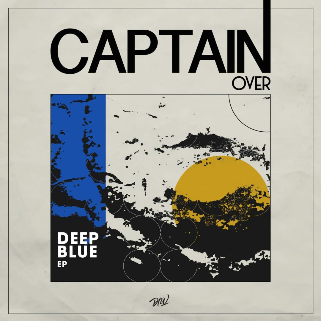 "Captain Over Deep Blue EP Darker Than Wax 12"" Vinyl"