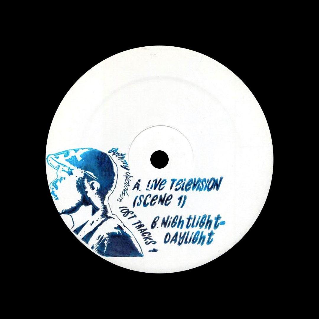 """Anthony Nicholson Lost Tracks, Vol. 1 Not On Label 12"""" Vinyl"""