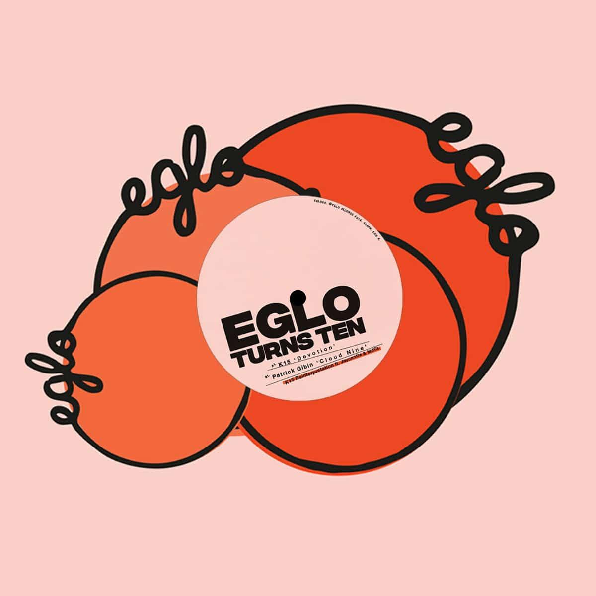 "K15, Patrick Gibin Devotion / Cloud Nine Eglo 12"" Vinyl"