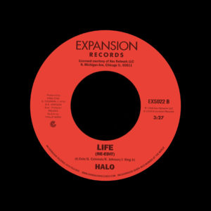 "Halo Let Me Do It / Life Expansion 7"", Reissue Vinyl"