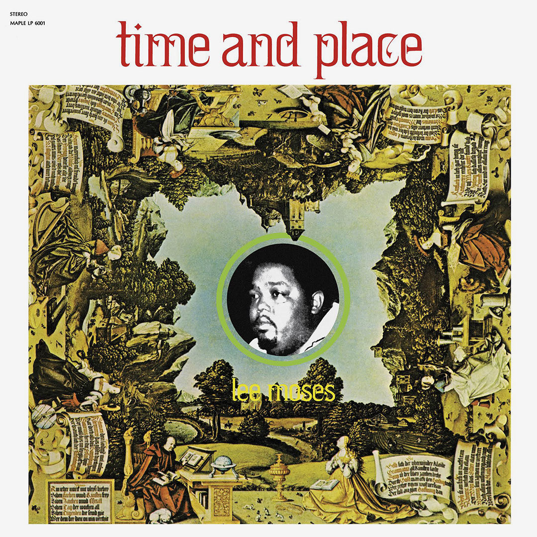 Lee Moses Time and Place Future Days LP, Reissue Vinyl
